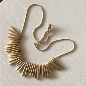 Madewell Gold Fringe Necklace